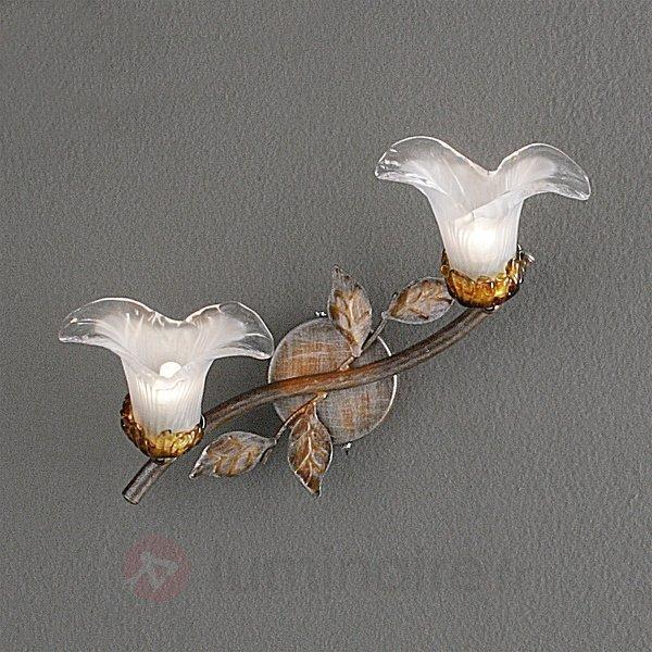 Applique florentine à 2 lampes PALIA - Appliques style florentin
