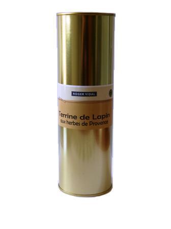 TERRINE DE LAPIN AUX HERBES DE PROVENCE 820 g - Epicerie salée