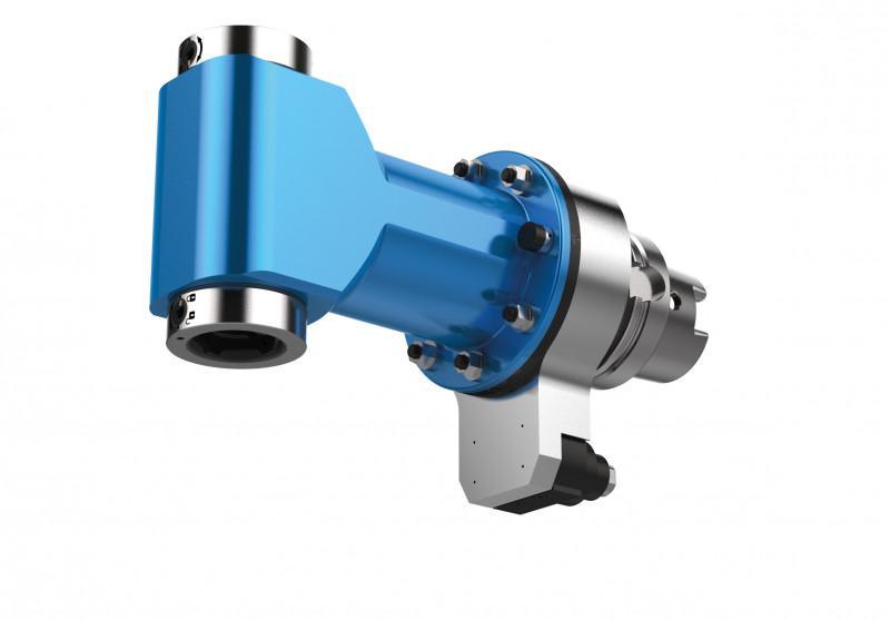 Zweifachwinkelkopf DUO WZX - CNC Aggregat / Winklekopf zur Bearbeitung von Metall