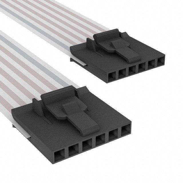 FLEX CABLE - AFG06A/AF06/AFG06A - TE Connectivity AMP Connectors A9CCA-0602F