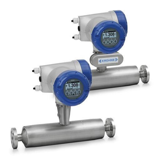 OPTIMASS 1000 - Caudalímetro para sólidos / másico / de efecto Coriolis / en línea