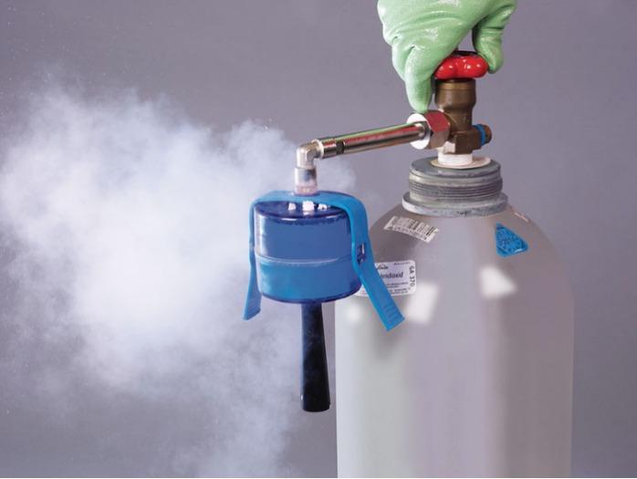 SnowPack® Appareil à glace carbonique - Pour obtenir une pastille de glace carbonique à -79 °C, milieu de refroidissemen