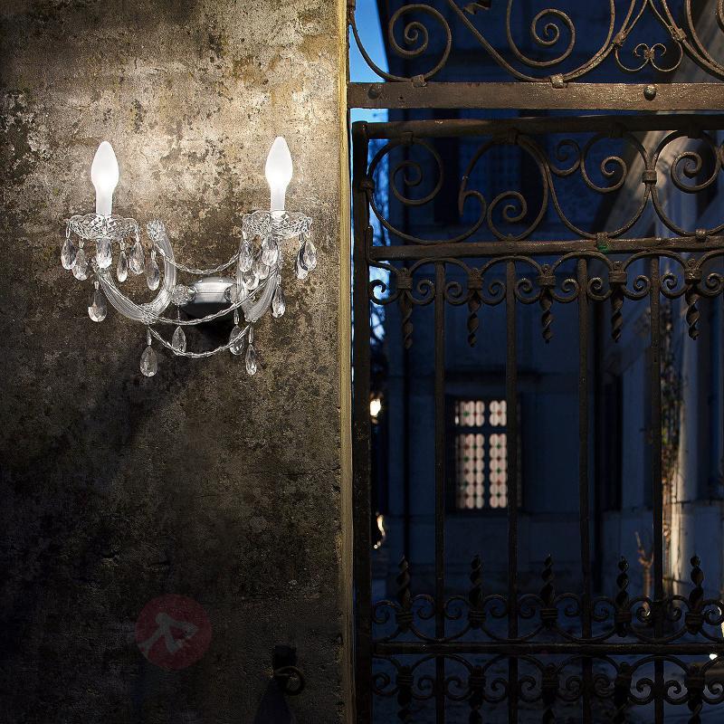 Applique d'extérieur LED à 2 lampes Drylight A2 - Toutes les appliques d'extérieur