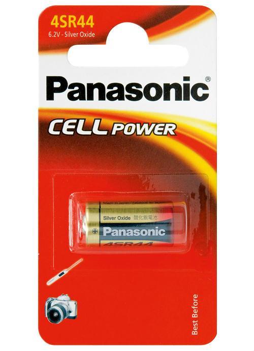 Batterie cilindriche all'ossido d'argento 4SR44