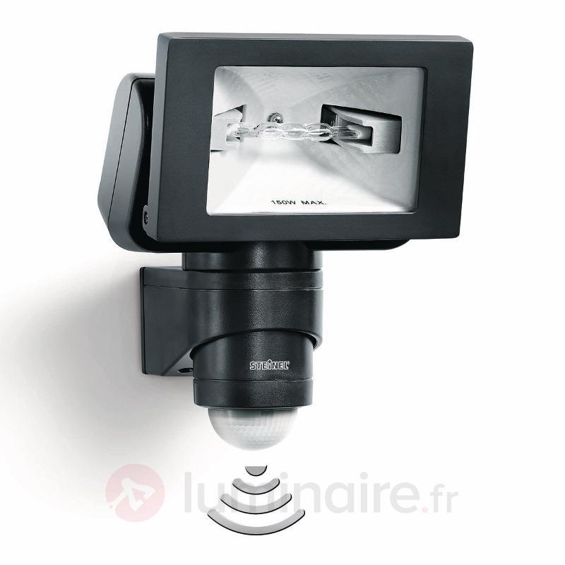 Projecteur halogène à détecteur STEINEL HS 150 - Appliques d'extérieur avec détecteur