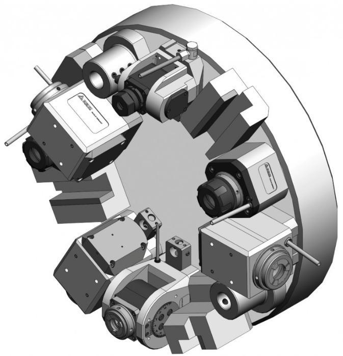 Angetriebene Werkzeuge Haas - Angetriebene Werkzeuge für den Maschinentyp Haas