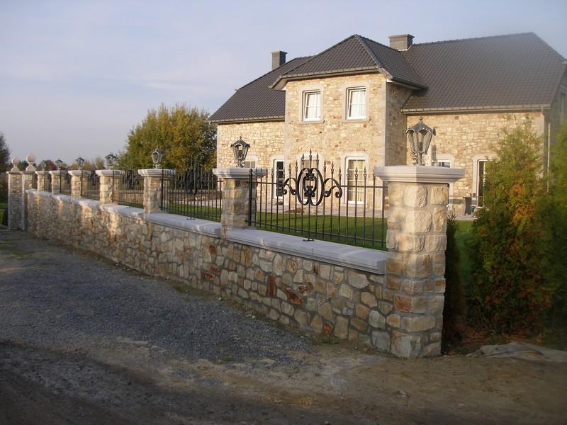Couvre-murs - Pierre de bâtiment