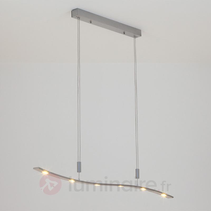 Suspension LED Xalu à hauteur réglable 120 cm - Suspensions LED