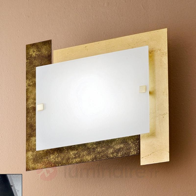 Exceptionnel plafonnier ARLESTRA doré ou argenté - Tous les plafonniers