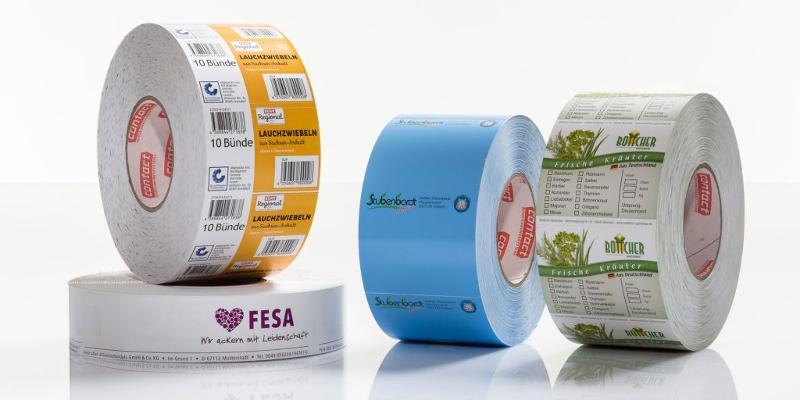 Etiketten für Industrie & Handel - Kistenstecker