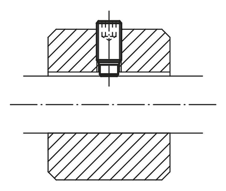 Vis HC à embout en laiton ou POM - Vis à bille orientable et inserts à picots