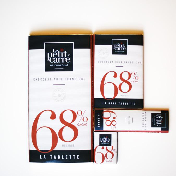 Chocolat 68% origine Mexique