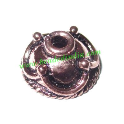 Copper Metal Caps, size: 6x13mm, weight: 1.4 grams. - Copper Metal Caps, size: 6x13mm, weight: 1.4 grams.