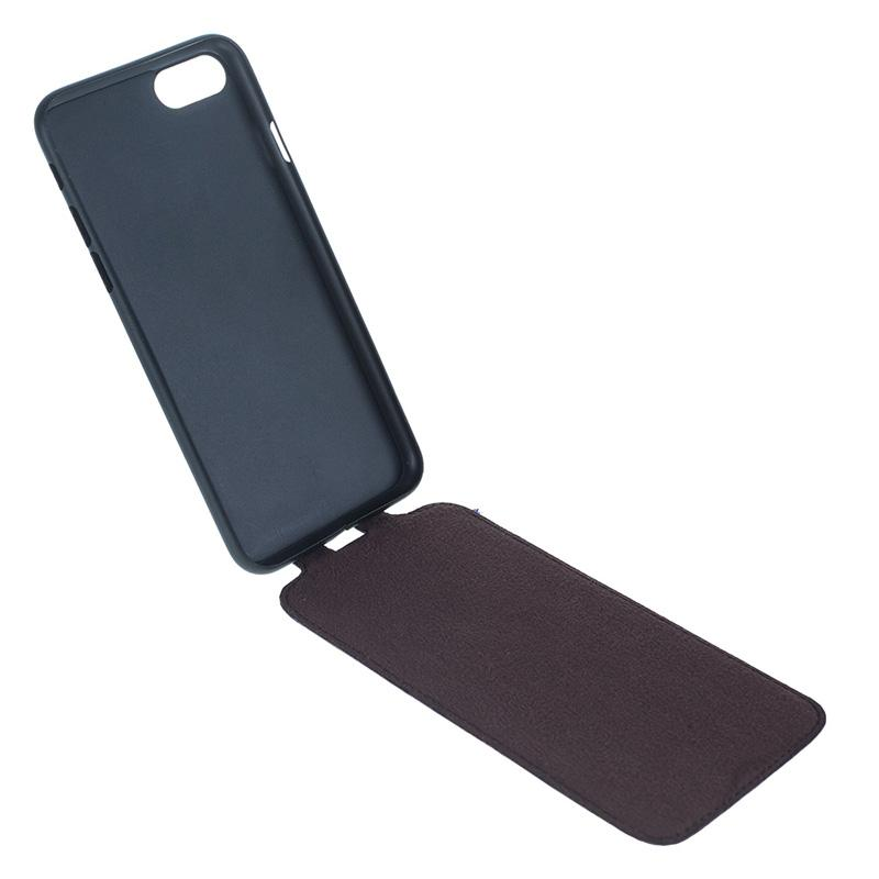 Slim Flip - Genuine Leather Mobile Phone Cases for iPhone 7