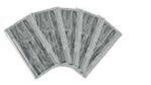 Máscaras desechables activas de carbón de 4 capas -