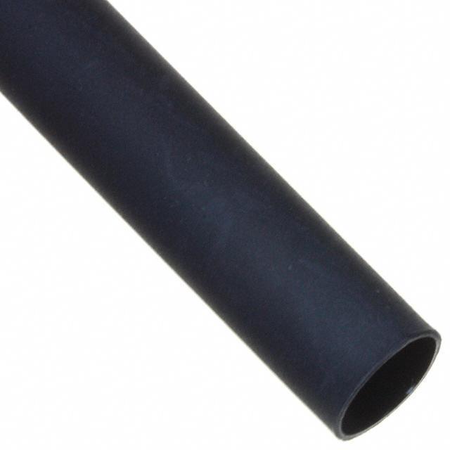 "HEATSHRINK POLY 1/4""X4' BLK - TE Connectivity Raychem Cable Protection DWP-125-1/4-0-STK"