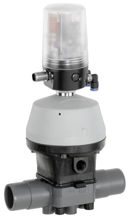 GEMÜ R690 - Pneumatisch bediende membraanafsluiter