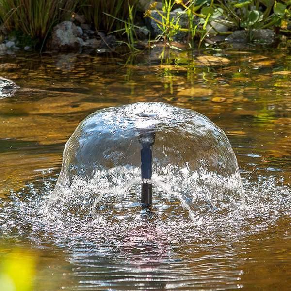 Solar pond pump system Genova LED - Pond Pumps