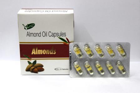 Almond Oil Capsules - Almond Oil Capsules