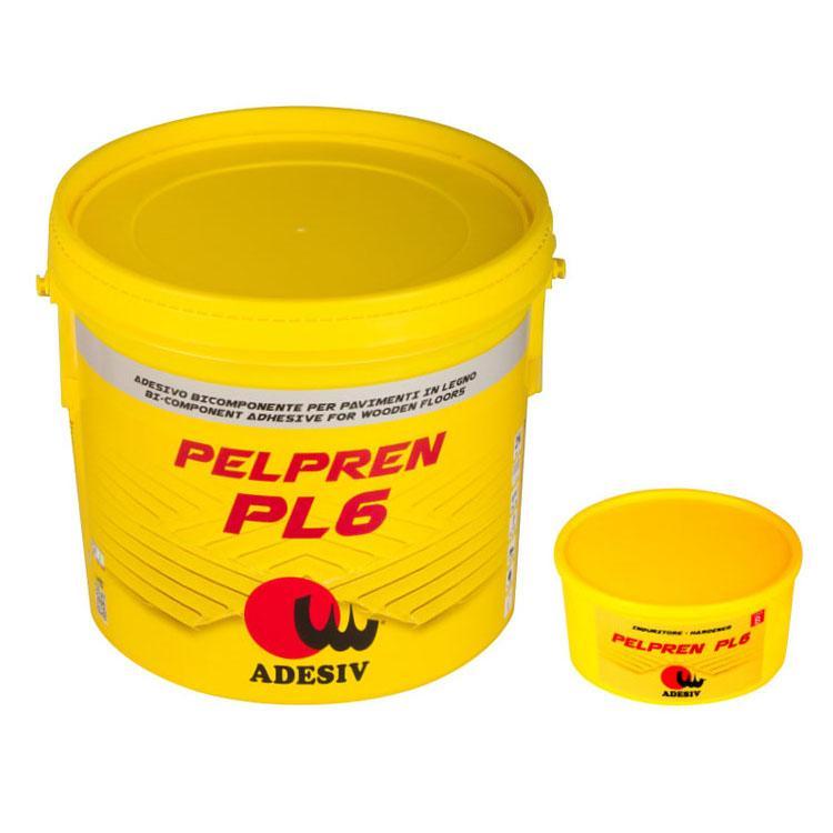 Pelpren Pl6 Adesivo Bicomponente Per Pavimenti In Legno - null