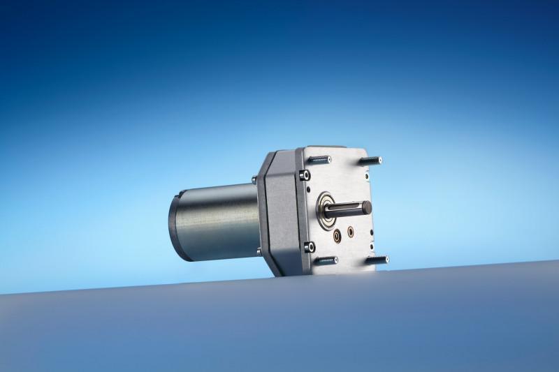 Spielarmes Stirnradgetriebe N 72 - Stirnradgetriebe (und Motor) in Aluminium-Gehäuse bis 5 Nm