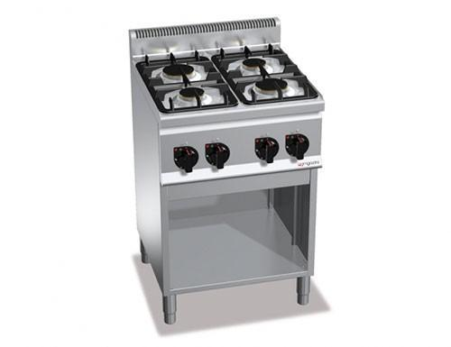 Stove - Gas stove 4xBrenner ( 12.4 kW)