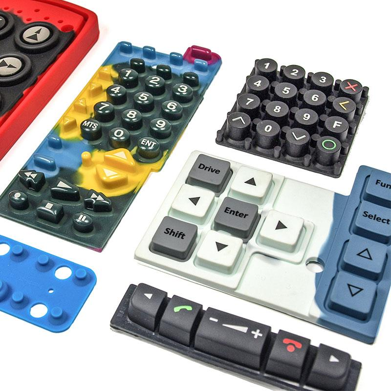 Silicone Rubber Keypads - Customized Solution
