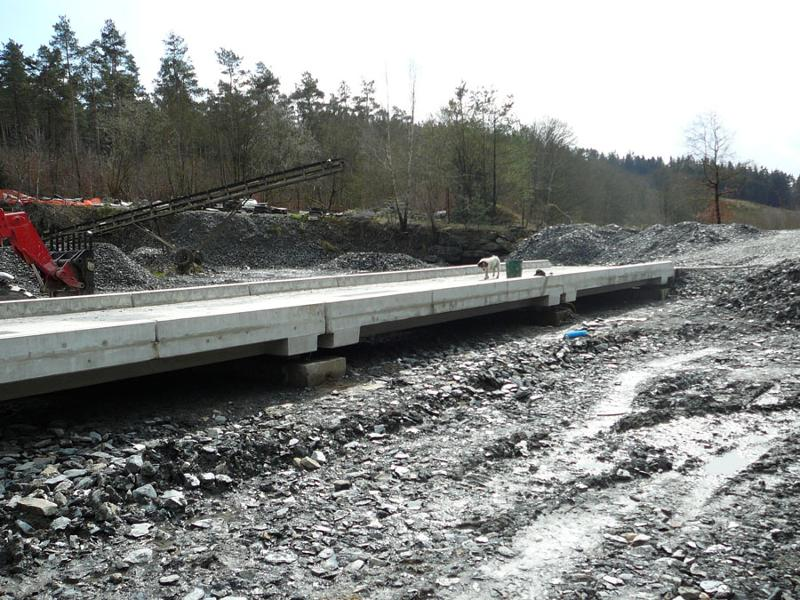 Pont bascule camion hors sol Modulaire - null