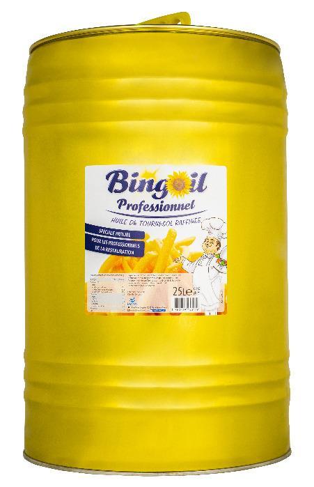 Huile de friture 25L - BINGOIL -