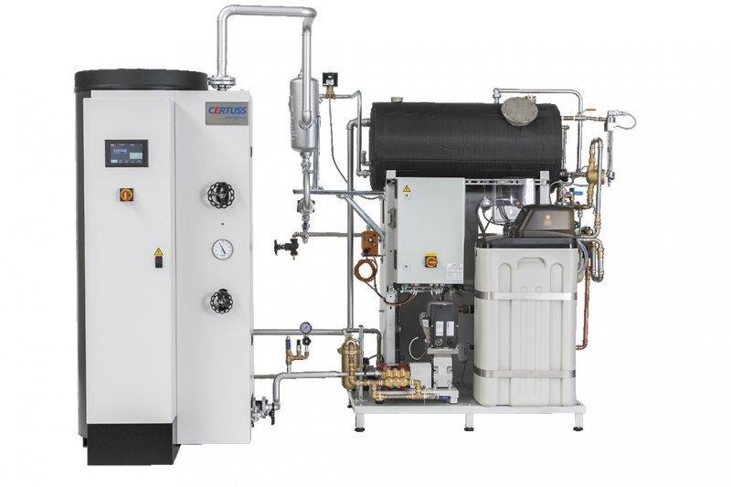 Komplettanlage - Dampfkessel - Betriebsfertige Dampfkesselanlage