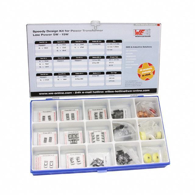 KIT DESIGN POWER TRANS 5-15W - Wurth Electronics Inc. 750102