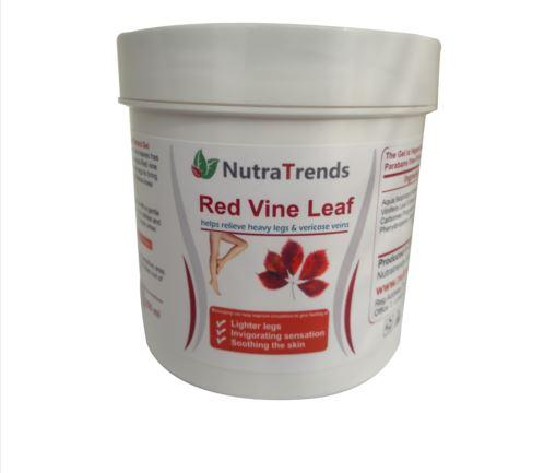 Red Vine Leaf Extract Gel For Vericose Veins,Tired Heavy Leg - Red Vine Leaf Extract Gel For Vericose Veins,Tired Heavy Legs Fast Relief 250ml