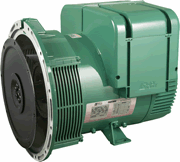 Low voltage alternator for generator set Stand-by - LSA 42.3 - 4 poles - Single phase 18.2 - 53 kVA/kW