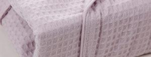 Waffle weave robes - null