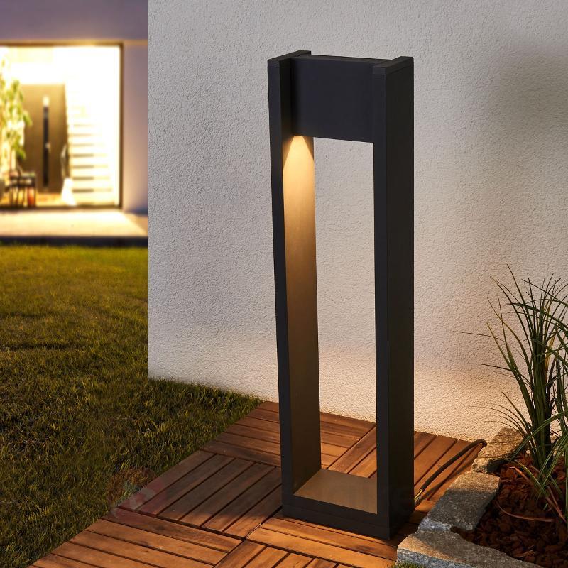 Éclairage pour chemin LED Samira tête orientable - Bornes lumineuses LED