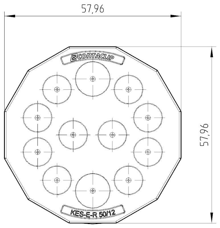 KES-E-R 50/12 A GR   Kabeleinführung - null