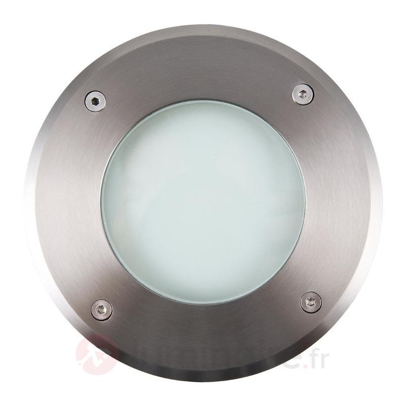 Spot encastrable dans le sol LED rond Aachen 16 cm - Luminaires LED encastrés au sol