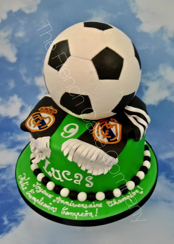 Gâteaux et Pièces Montées sur-mesure - Fan du Real Madrid