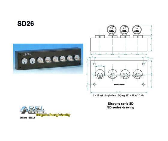 Distributori di Chiavi - Distributore chiave SD26
