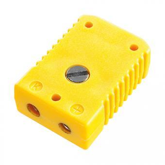 Standard socket type K, yellow - Thermocouple connectors