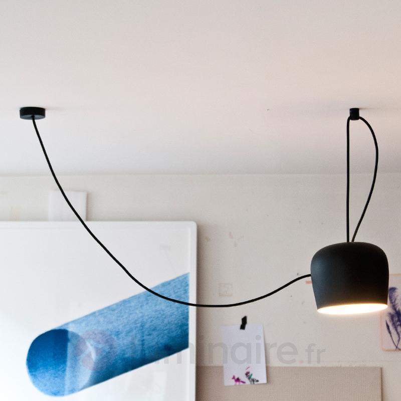 Suspension de conception FLOS Aim LED noir - Suspensions design