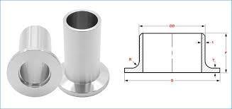 Copper Nickel 70/30 Long Stub End - Copper Nickel 70/30 Long Stub End