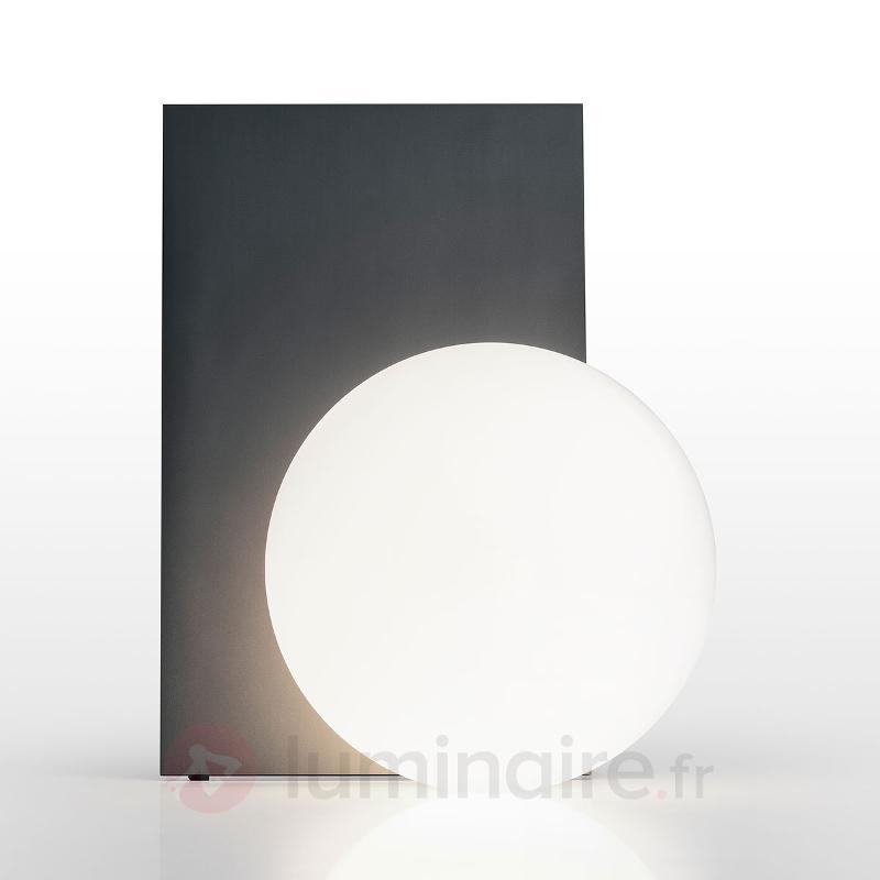 Lampe à poser de designer Extra T à LED, graphite - Lampes à poser designs