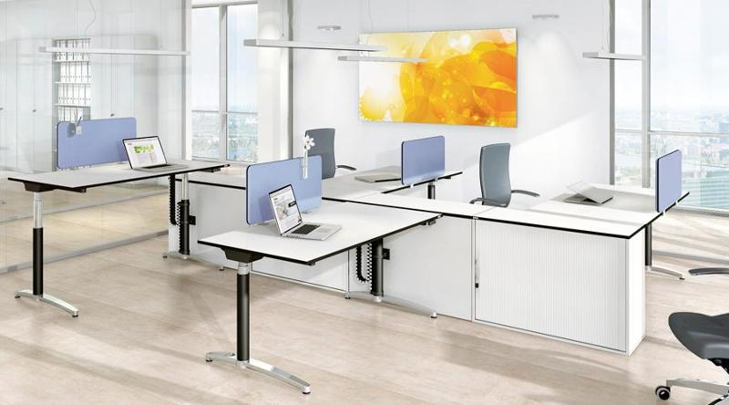 Stand-up/sit-down desks - Canvaro