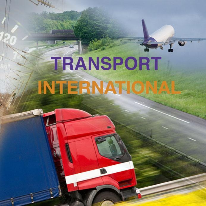 Transport international - Livraison partout dans le monde
