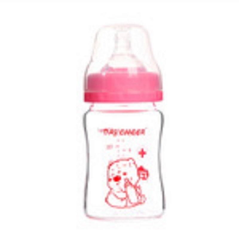 borosilicate glass baby bottle - 150ml
