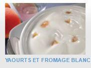 EN-CAS HYPERPROTEINES ET HYPOCALORIQUES A RECONSTITUER - Yaourts et fromage blanc