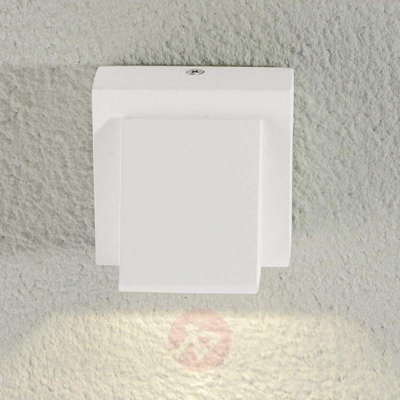 Marik white LED outdoor wall light - Outdoor Wall Lights