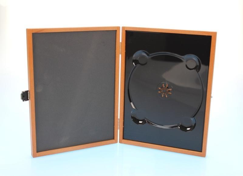 Holzbox / Wooden Media Box für 1 Disc in DVD Größe - Holzverpackungen