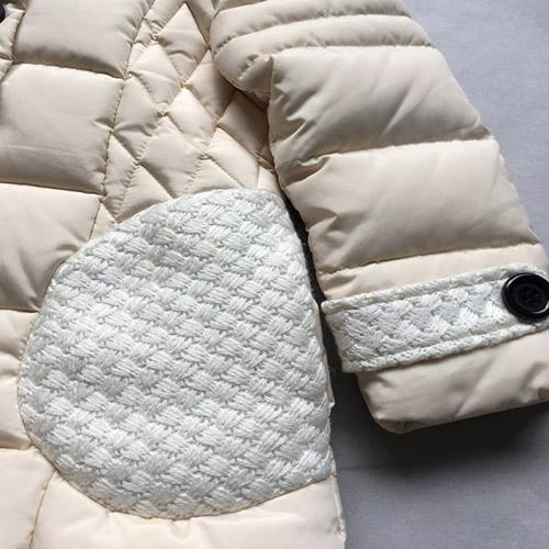 Abrigo para niños - Abrigo de color crema de manga larga